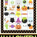 Printable Halloween Bingo Game Cards   Happiness Is Homemade