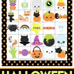 Printable Halloween Bingo Game Cards   Happiness Is Homemade