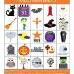 Printable Halloween Bingo Game   Glue Sticks And Gumdrops