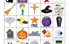 Printable Halloween Bingo Game – Glue Sticks And Gumdrops