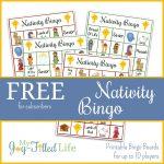 Printable Nativity Bingo | Christmas Games | Nativity Bingo