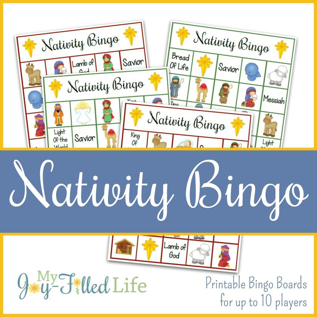 Printable Nativity Bingo Game - My Joy-Filled Life