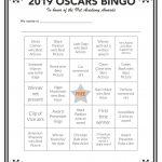 Printable Oscars Bingo In 2020 | Bingo, Bingo Cards, Oscar Games