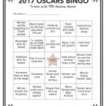 Printable Oscars Bingo In 2020   Party Planning