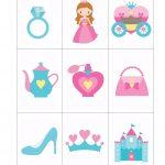 Printable: Princess Bingo With Goldfish | Kinderfeest