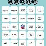 Printable Super Bowl Bingo!   Super Bowl Bingo, Superbowl