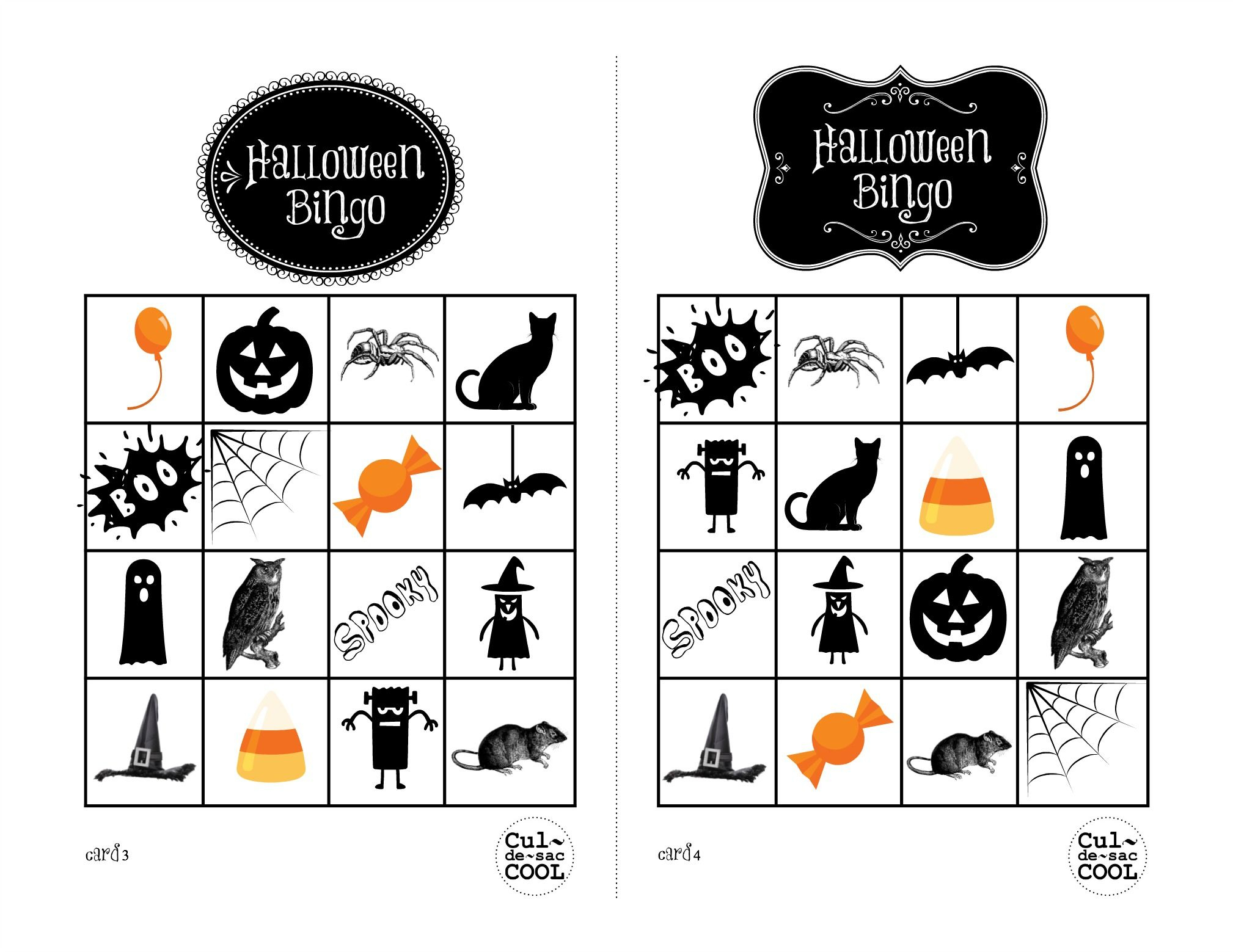 Pumpkin Bingo Game | Pass The Pumpkin | School Halloween