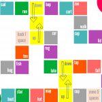 Rhyming Board Game   Free Printable   Rhyming Games, Board