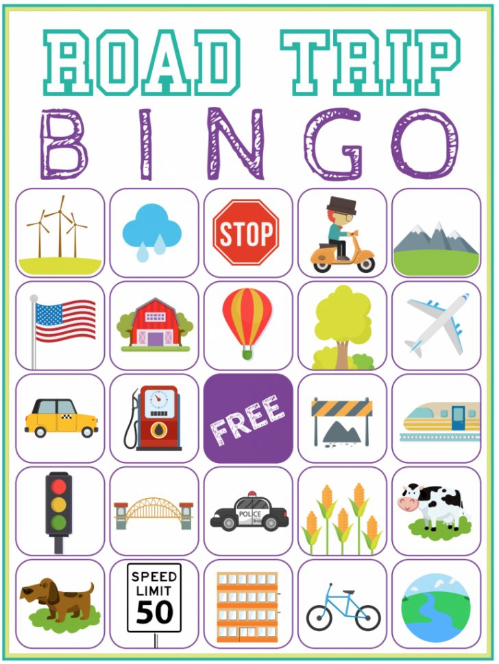 Travel Bingo Cards Printable Free