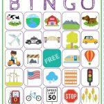 Road Trip Bingo Printable Game   Free Download Of 6 Travel