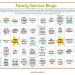 Service Bingo Card Printable | Bingo Cards, Bingo, Cards