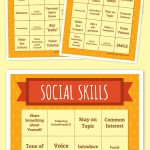 Social Skills Bingo | Free Printable Bingo Cards, Bingo Card
