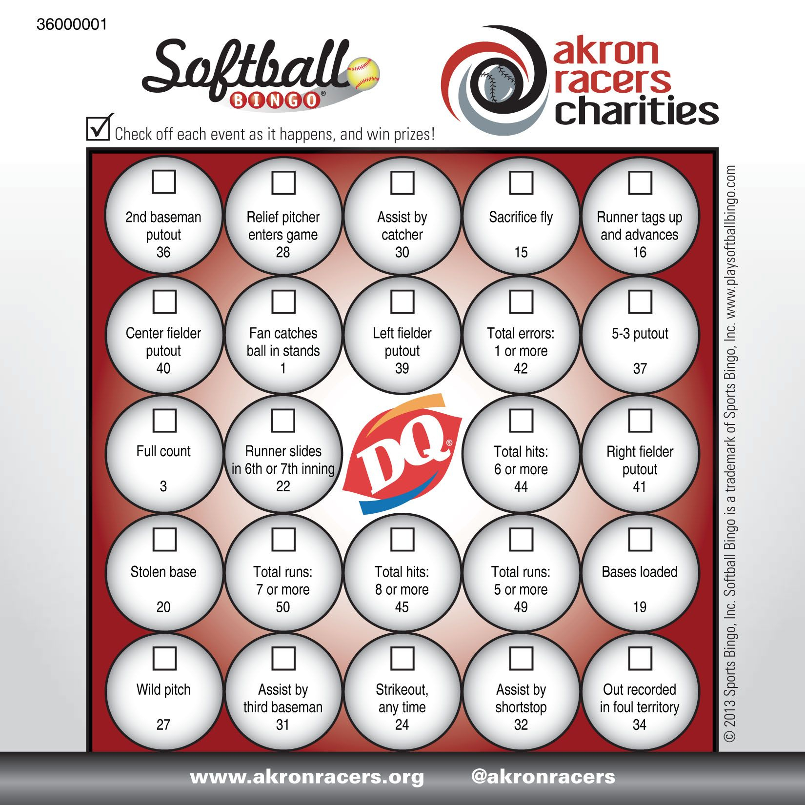 Softball Bingo - Www.playsidelinesports | Softball, Card