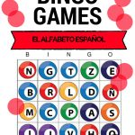 Spanish Alphabet   Bingo | Spanish Alphabet, Learning