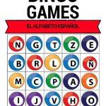 Spanish Bingo   Alphabet   El Alfabeto Español | Teaching