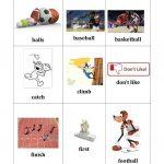 Sports Bingo Cards   English Esl Worksheets For Distance