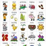 Spring Bingo   Bingo, Bingo Card Template, Bingo Cards