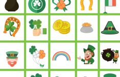 St. Patrick's Day Bingo Free Printable Game