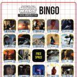 Star Wars Bingo   Disney Family