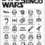 Star Wars Bingo {Free Printable Party Game}   Paper Trail Design