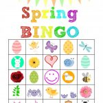 Stronger Than The Average Mom: Spring Bingo Printables