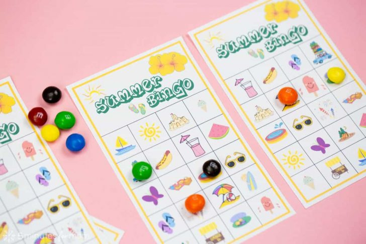 Free Printable Bingo Card Games
