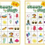 Summer Bingo Game With Free Printables   Bingo Games Free