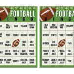 Super Bowl Football Bingo Cards (Free Printable) | The