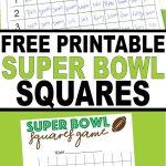 Super Bowl Liv Squares Pdf   Daily Superbowl News 2020