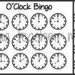 Teacher Mama: Time Bingo Games   Boy Mama Teacher Mama