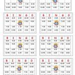 Telling Time Bingo   English Esl Worksheets For Distance