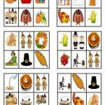 Thanksgiving   Bingo Cards   English Esl Worksheets For