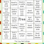 The Cozy Red Cottage: Reading Bingo (Free Printable)