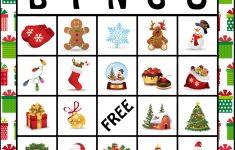 The Kurtz Corner: Free Printable Christmas Bingo Cards (With