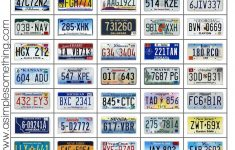 The License Plate Game Printable | Road Trip Games, Travel