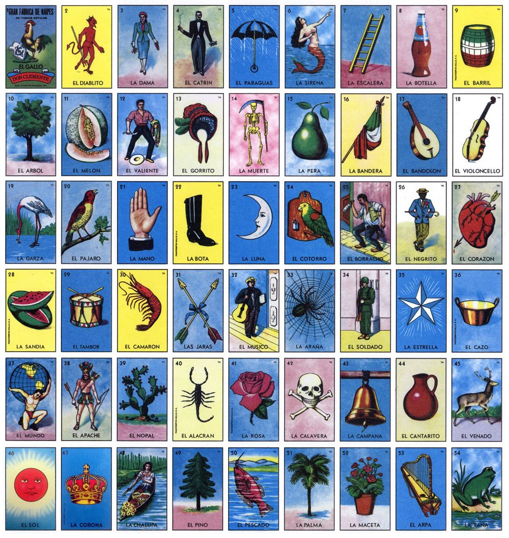 The Look Of Loteria | Loteria Cards, Loteria, Cards