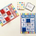 Times Table Bingo For Learning Multiplication. Free