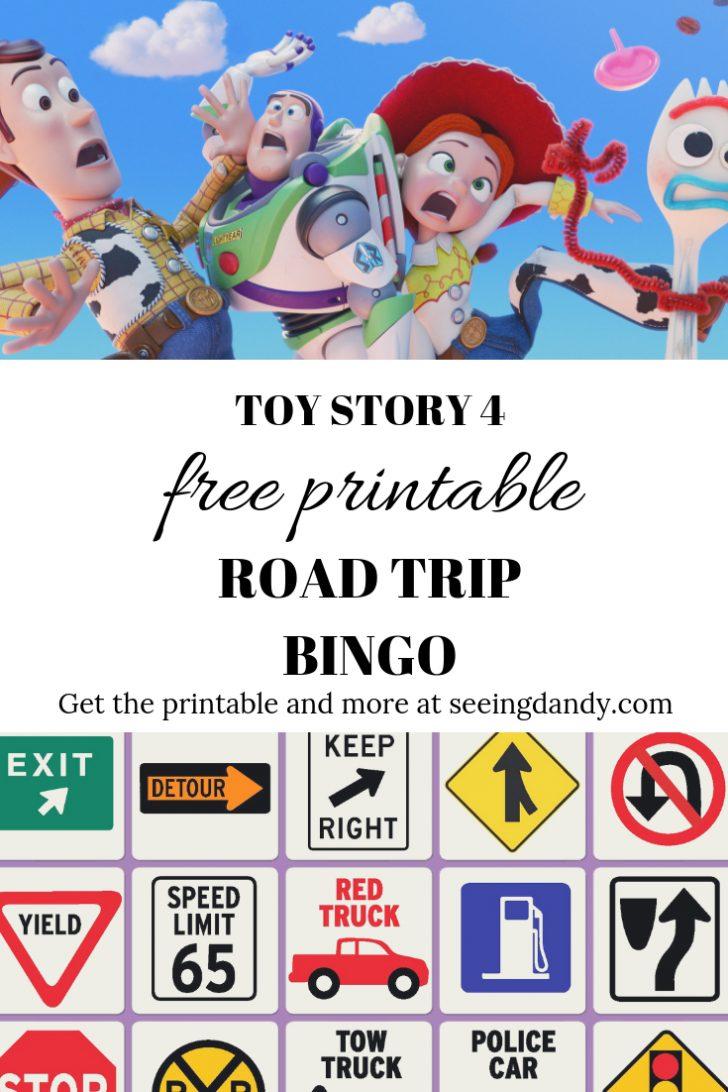 Free Printable Toy Story Bingo Cards