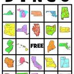 U.s. State Maps | State Crafts, States, Capitals, School Age