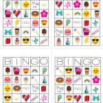 Unicorn Bingo Free Printable Download   Tinselbox