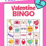 Valentine Bingo   Free Printable Valentine's Day Game With
