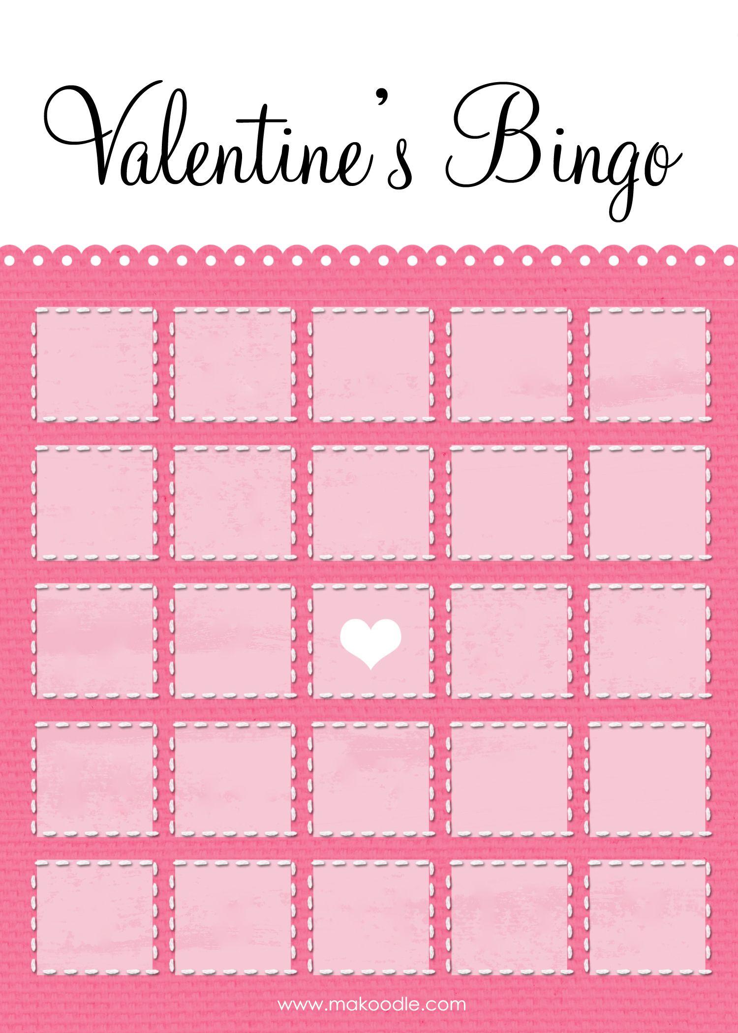 Valentines-Bingo-Elegant-Blank-Blog (1500×2100) | Bingo