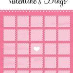 Valentines Bingo Elegant Blank Blog (1500×2100) | Bingo