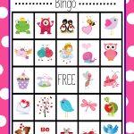Valentine's Bingo Game To Print & Play | Kid Stuff