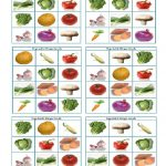 Vegetable Bingo Flashcards   Vegetables, Bingo, Fruit Printables