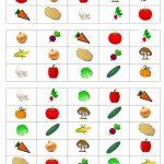 Vegetable Bingo Game   English Esl Worksheets For Distance