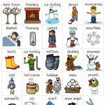 Winter Bingo   Bingo, Winter Words, Bingo Card Template